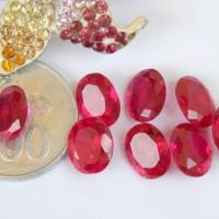 harga Ms6222 Batu Permata Merah Siam Cuting Brilliant / Siem / Obsidian Tokopedia.com