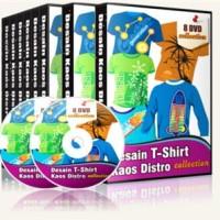 Paket Desain KAOS atau T-Shirt DISTRO Vector Bitmap