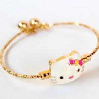 Gelang Hello Kitty Xuping Gold Lapis Emas - Gelang Anak Anak