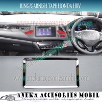 Ring/Garnish Tape/Head unit/HU Chrome Mobil Honda HRV