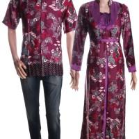 Baju Batik Couple / Sarimbit Model Gamis - Lilia