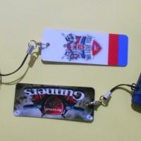 Gantungan Kunci Mini Card (Cocok utk Flashdisk, HP, Kunci Loker, dll)