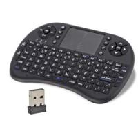 Mini Keyboard Mouse Wireless Touchpad 92 Keys QWERTY