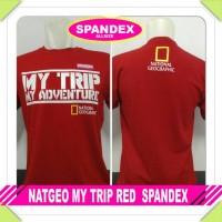 kaos my trip my adventure red