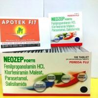 Neozep Forte tablet ( 1 strip @ 4 tablet )