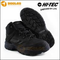 sepatu Hi-Tec QH Black Waterproof for hiking outdoor
