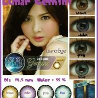 Softlens Luna Eye Zodiac Gemini / Soft Lens Lunar Water 55% Korea