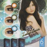 Softlens Luna Eye Zodiac Aquarius / Soft Lens Lunar Water 55% Korea