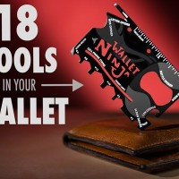 Wallet Ninja 18in1 Multifungsi Credit Card Sized Pocket Tool survival