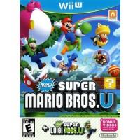 Wii U New Super Mario Bros. U & New Super Luigi U