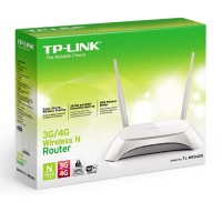 Tplink TL-MR3420 Wireless N Router 3G/4G USB Modem Wifi 2 antena