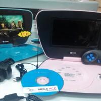 harga Portable Dvd Player GMC LED 7