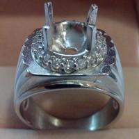 harga Emban, Ikat, Cincin Titanium Lapis Emas  18k (desain 9) Tokopedia.com