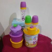 tupperware baby bottle set (malay)