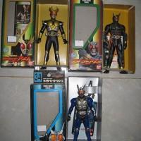 Action Figure RHS Kamen Rider Another Agito & G3 G3-X Original Bandai