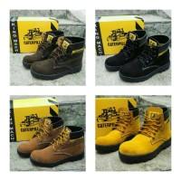 harga Sepatu Boot Safety Caterpillar Tokopedia.com