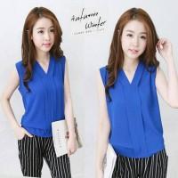 fo-Hyuna blouse @38 bhn katun rayon fit L ready
