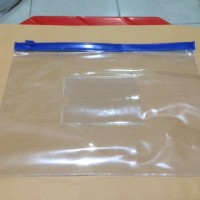 Zipper Pocket / kantong zipper plastik A6