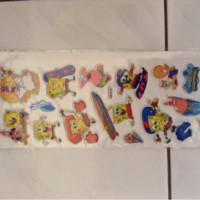 Harga lainnya stiker timbul spongebob | WIKIPRICE INDONESIA