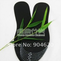 Jual Sol Arang Penghilang Bau Sepatu Bamboo Charcoal Insole Shoe insert Murah