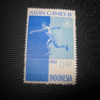 perangko asian games ke IV 1962
