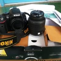 Kamera Nikon D5100 lensa kit + Tripod - Mulus banget lengkap