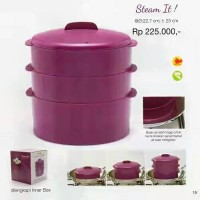 Steam It Tupperware / Alat Pengukus
