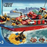 LEGO 7906 CITY Fireboat