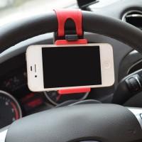 harga Holder Stir Mobil Car Steer Bracket Untuk Smartphone Tokopedia.com