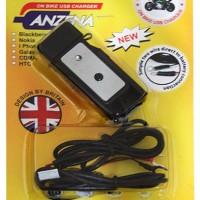 Charger Motor USB Anzena Untuk Handphone Tablet Smartphone GPS Kamera