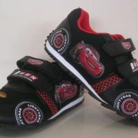 harga Sepatu Anak Disney McQueen No. 31-33 (Black/Red) Tokopedia.com