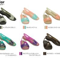 harga Sepatu Crocs Colorblock Flat Tokopedia.com