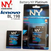 Baterai / Battery Ny Platinum Bl-198 For Lenovo K860, S880, S890