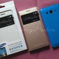 Samsung Galaxy Grand 2 G7102 S View Flip Cover Case