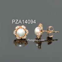 Anting giwang emas mutiara PZA14094