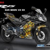 harga Jual Decal Yamaha R15 Motif SUNMOON V2 by Prostiker.com Tokopedia.com