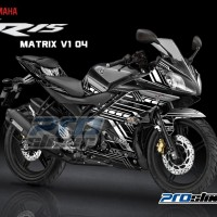 harga Jual Decal Yamaha R15 Motif Matrix V1 By Prostiker.com Tokopedia.com