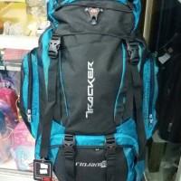 Harga Terbaru Tas Gunung Keril Plat Besi 60 Ltr Tracker 9179 Di Jakarta - Otomotifstore