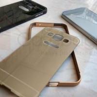 Aluminium Metal Bumper Case With Back Cover - Samsung Galaxy E5