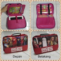 harga Ipad Bag For Kid / Tas Travelling Ipad Anak / School Kit Tab Organizer Tokopedia.com
