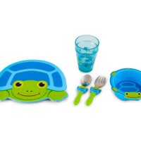 Sunny Patch Scootin Turtle Mealtime Set