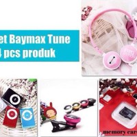 harga PAKET BAYMAX TUNE (Headphone + ipod mini shuffle + superwide lens+..) Tokopedia.com