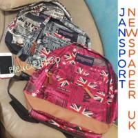harga Tas Jansport Motif Koran Bendera Inggris Newspaper Uk Backpack Bag Tokopedia.com