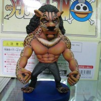 Action Figure Rob Lucci CP9 Leopard Form Custom One Piece