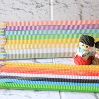 Kertas warna kokoru (color corrugated paper)