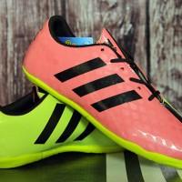 Adidas 11Pro SL Pink Hijau Anak(sepatu futsal anak,sepatu anak,sport)