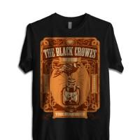 """Kaos BLACK CROWES """"The Marquee"""" GILDAN Tshirt"""