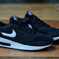 harga Sepatu Casual Nike Air Max 1 Black/white Tokopedia.com
