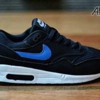 harga Sepatu Sport Nike Air Max 1 Black/blue Tokopedia.com