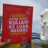 JKLN Buku + Vidoe Sakti, JURUS KULIAH LUAR NEGERI (Promo) Best Seller